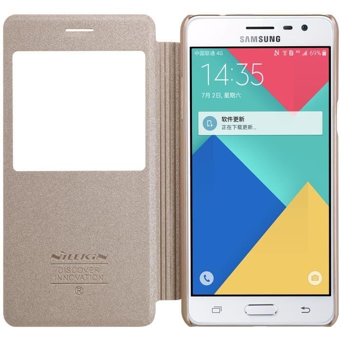 Nillkin Flip Case (Sparkle Leather Case)-Samsung Galaxy J3 Pro (J3110)