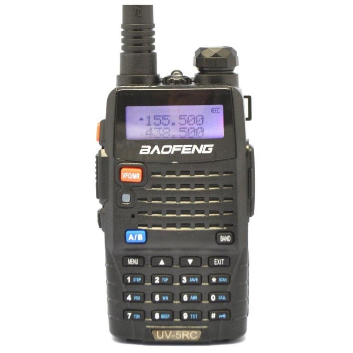 Foto Produk Taffware Walkie Talkie Dual Band Radio 5W 128CH UHF+VHF - UV-5RC dari BandungBmMall