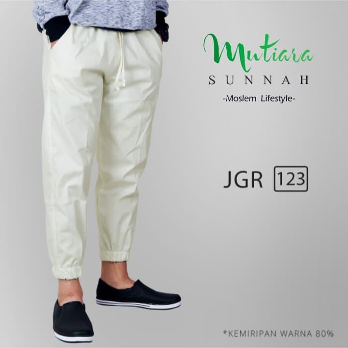 Jogger Pants   Celana Jogger   Sirwal Jogger   Celana Jogging Pria - JGR, L