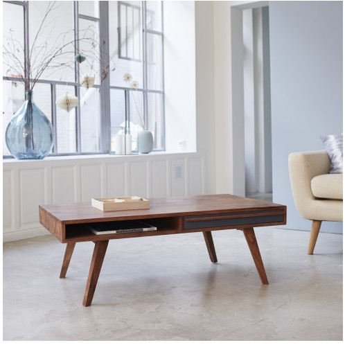 Jual Meja Ruang Tamu Sofa Minimalis Kayu Jati Kab Jepara Win S