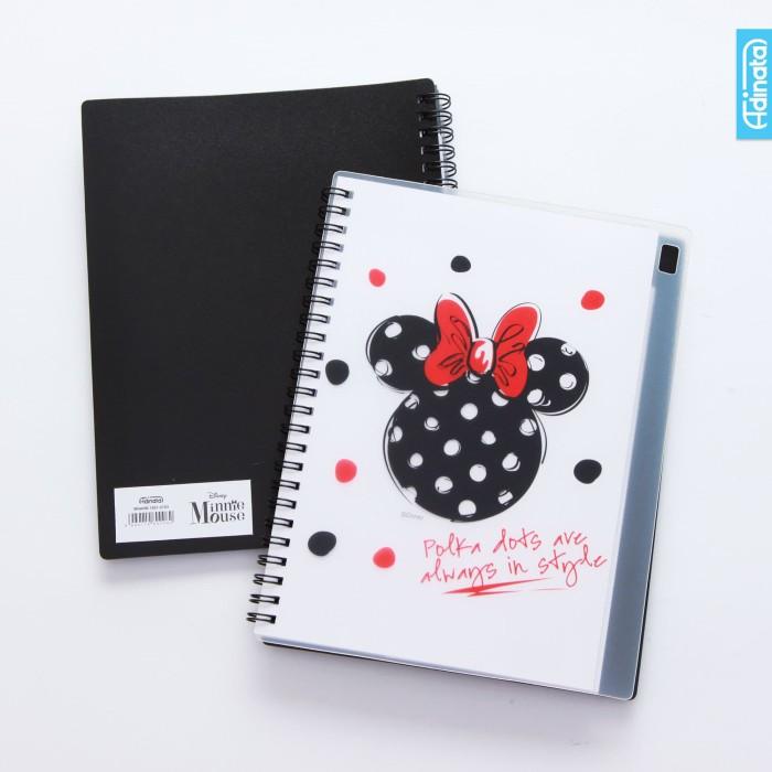 minnie mouse a5 note book - adinata / buku memo / buku tulis