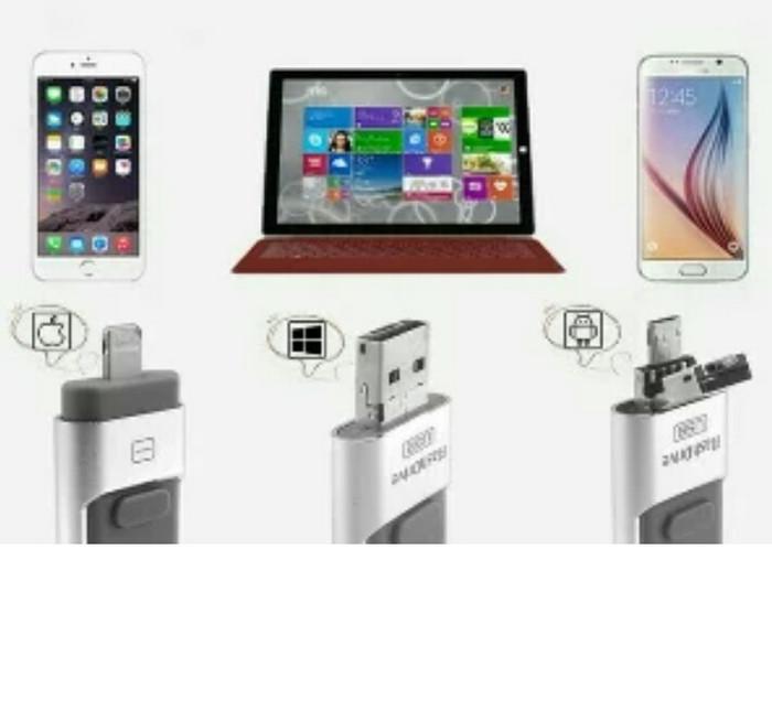 Otg 32gb samsung iphone flashdrive flashdisk micro usb