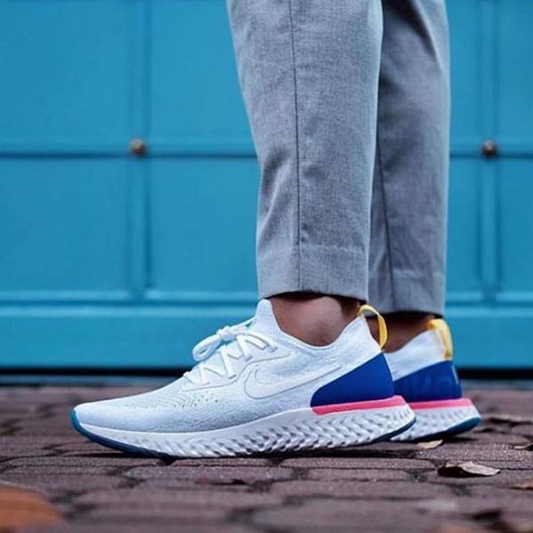 new style a0c70 6fb8f Jual Nike Lunar Epic React Flyknit White - Kab. Tangerang - Sneakerslogy |  Tokopedia