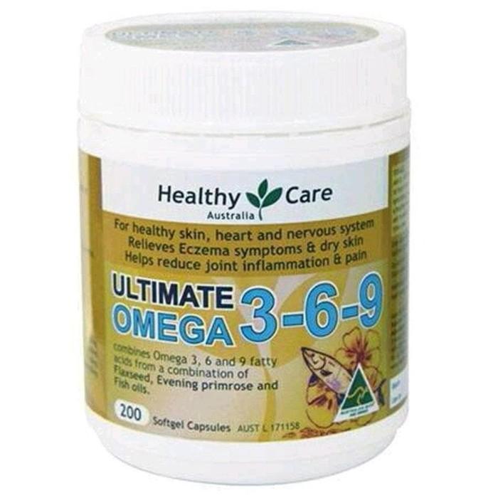 Katalog Healthy Care Ultimate Omega Travelbon.com