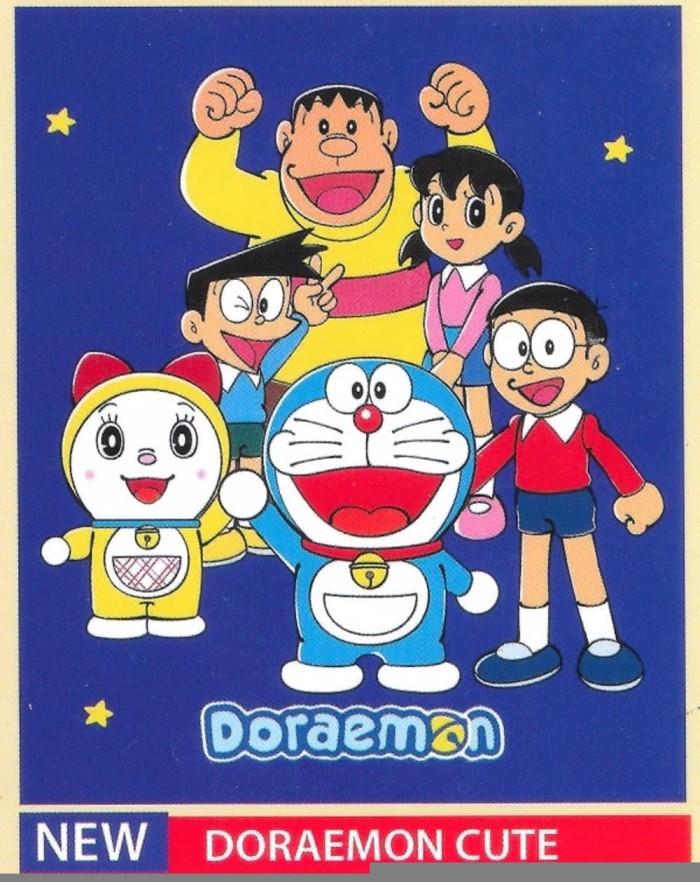 Jual Selimut Bonita Soft Panel Motif Karakter Kartun Doraemon Promo