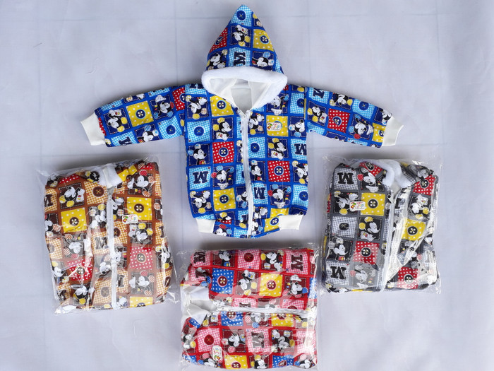 harga Baju jaket lucu tebal sleting Tokopedia.com