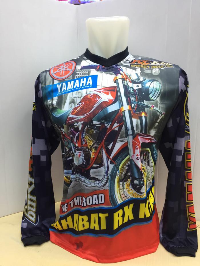 harga Baju kaos jersey motor yamaha rx king Tokopedia.com