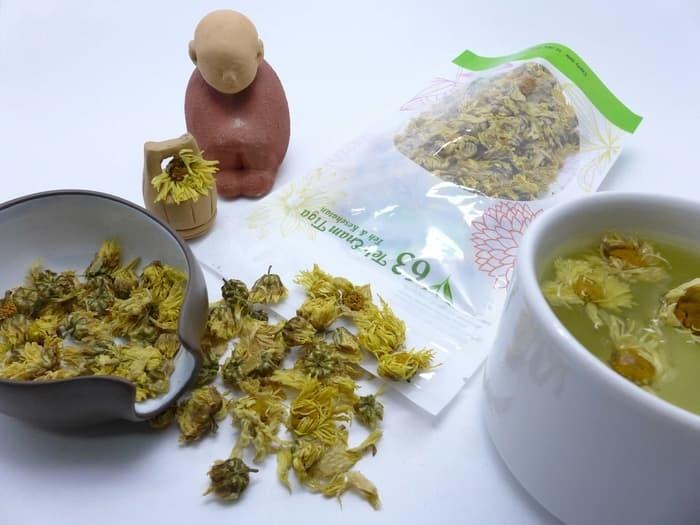 Teh 63 - Teh Bunga Krisan Chrysanthemum Flower Tea Teh Crysant 25Gram