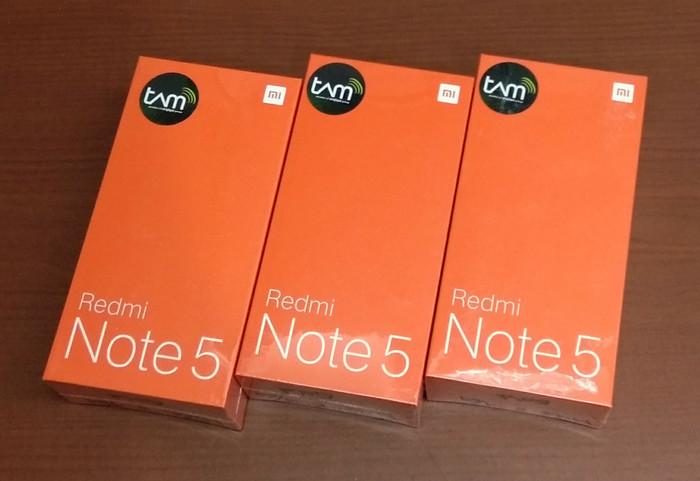 harga Xiaomi redmi note 5 gold 32 gb/3gb ram 4g finger garansi tam Tokopedia.com