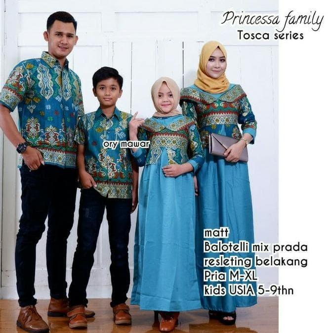 Jual Batik Couple Sarimbit Seragam Keluarga Pesta Hijab Baju Gamis Muslim Jakarta Barat Mawar Toko 12 Tokopedia