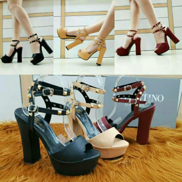 harga Sandal heels Tokopedia.com