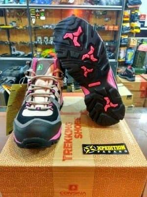 Sepatu Gunung Hiking Consina Alpine Women waterproof pi Berkualitas 30719a97bb