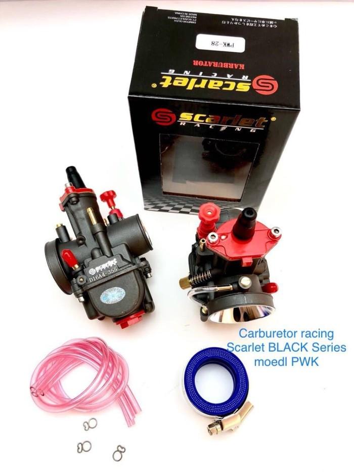 harga Baru karburator racing scarlet black series ada pwk 24 28 30 32 34 Tokopedia.com