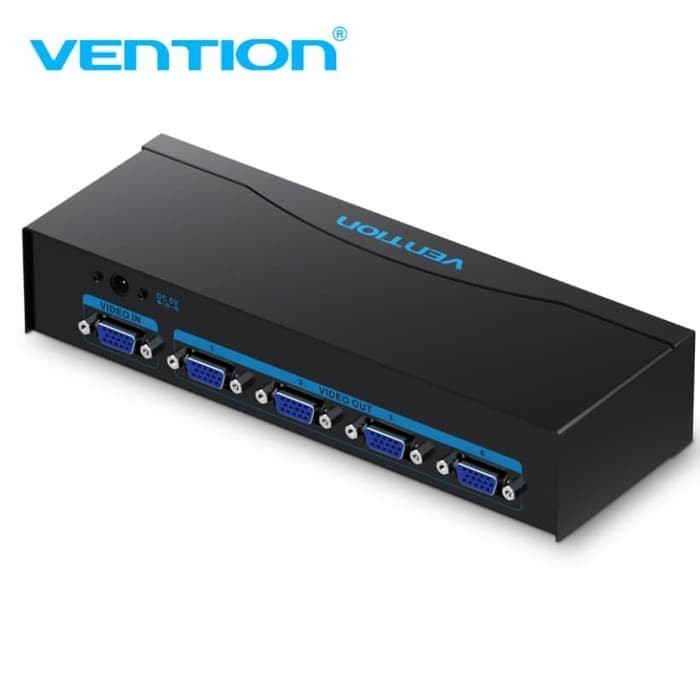 harga Vention [dbbb0] vga splitter 1in 4out strong iron with power supply Tokopedia.com