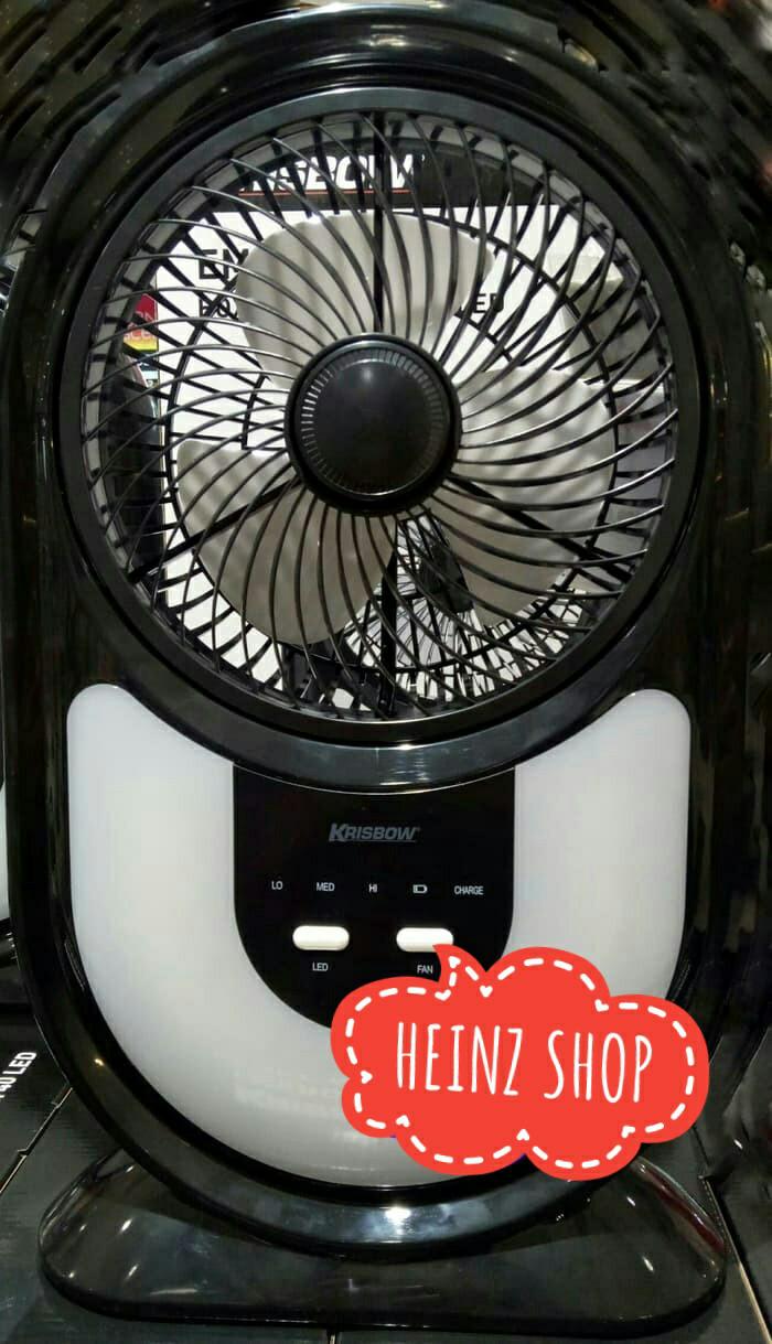harga Krisbow emergency box fan with 40 led / kipas angin lampu darurat 7 Tokopedia.com