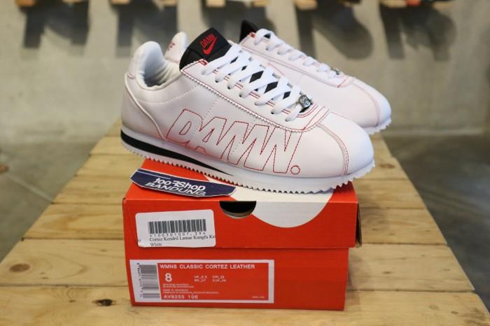 newest 631b5 d672e Jual Nike Cortez x Kenderick Lamar x DAMN Unisex Premium BNIb - Kota  Bandung - footshop | Tokopedia