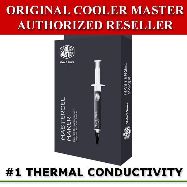 harga Cooler master mastergel maker nano thermal paste - pasta pendingin Tokopedia.com