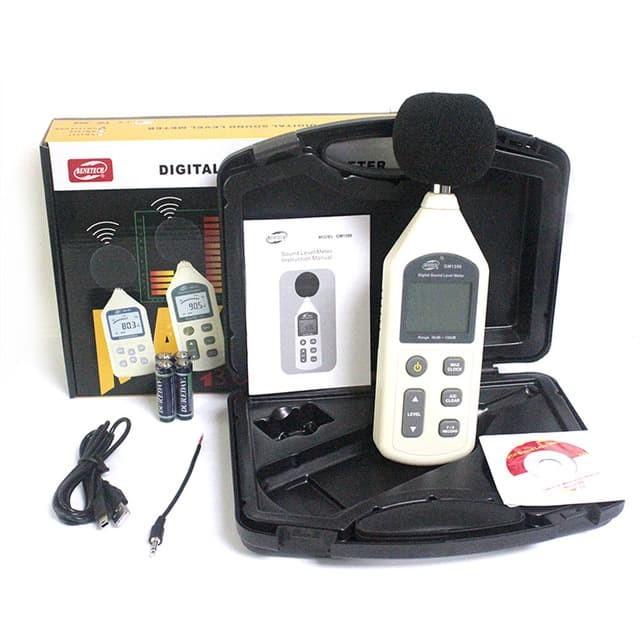 Foto Produk Sound Level Meter Data Logger Benetech GM1356 Tester Suara GM-1356 dari HRDIK