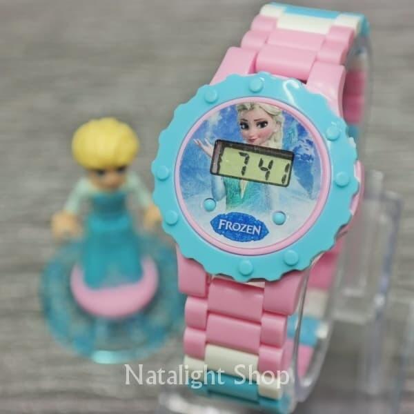 harga Jam tangan anak cewek frozen elsa disney murah bisa bongkar pasang Tokopedia.com