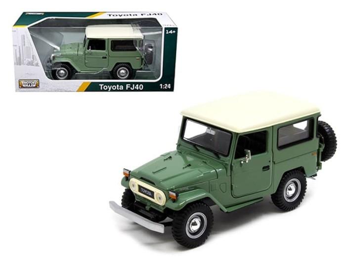 harga Motormax 1/24 toyota fj40 green Tokopedia.com