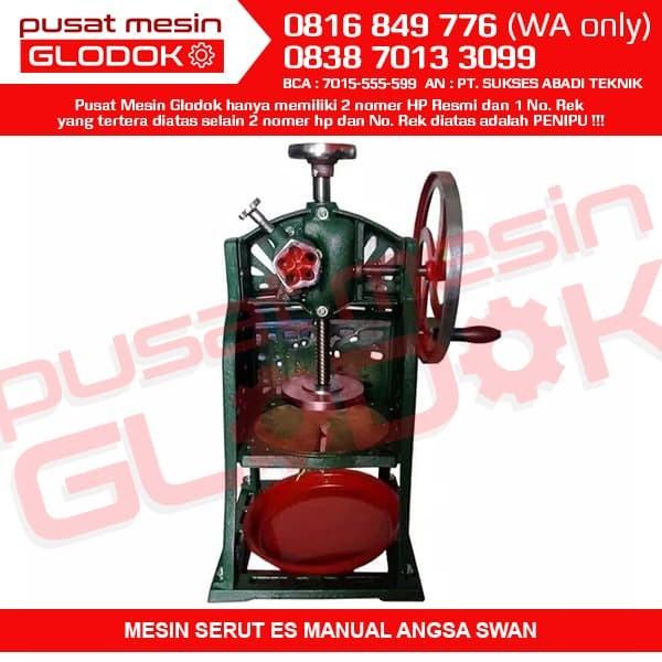 harga Ice crusher manual / mesin serut es mnaual anggsa swan Tokopedia.com