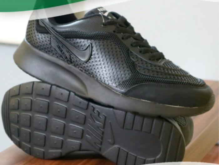 ... harga Sepatu sekolah nike airmax one full hitam anak pria wanita cewek  cowok Tokopedia.com d850b061ff