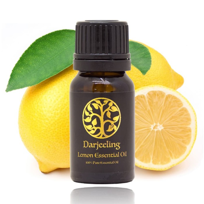 Lemon Essential Oil Minyak Jeruk Lemon 100% Alami Young Living - 10ml