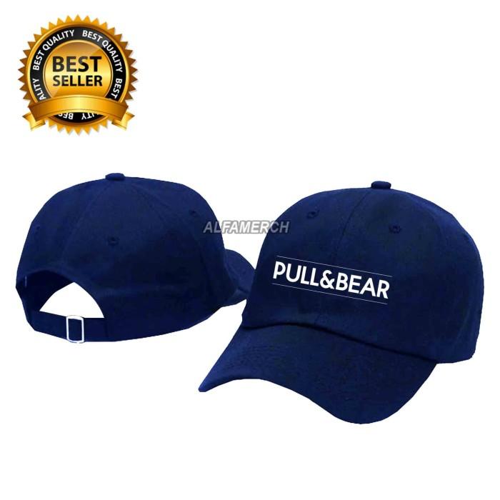Topi baseball murah pull and bear keren alfamerch harga ... dc78269c72