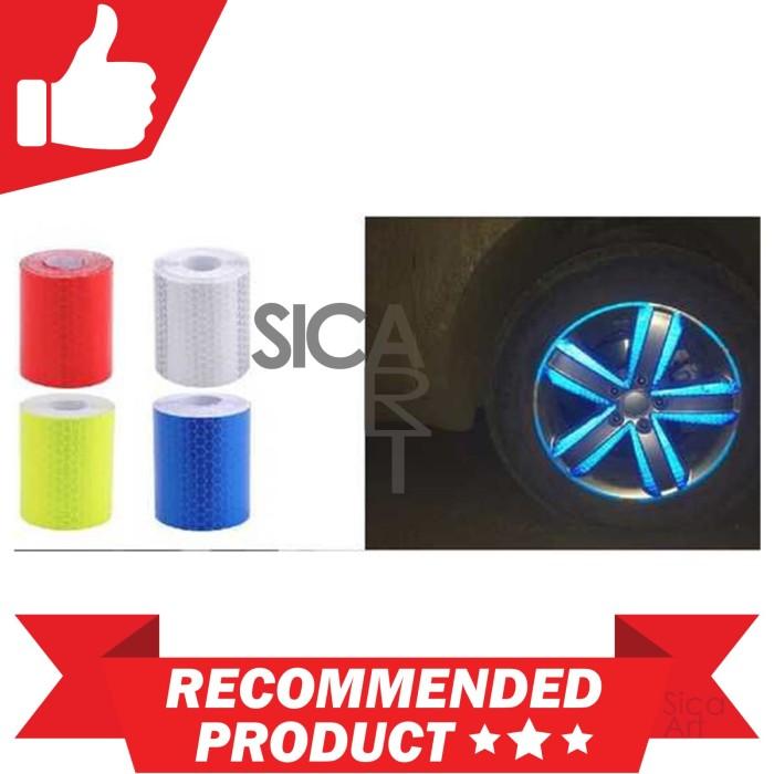 harga Stiker reflektif bodi mobil motor motif sarang lebah 300 x 5 cm Tokopedia.com