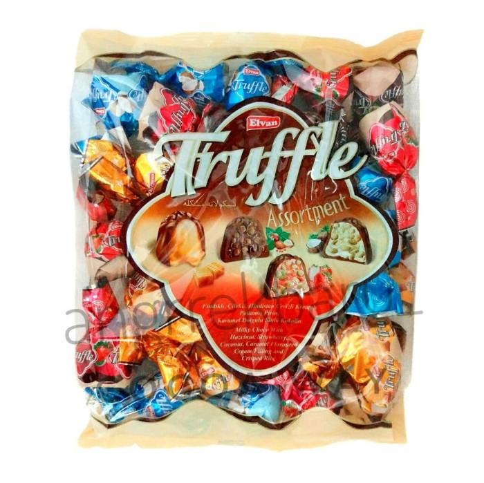 Coklat Elvan Truffle Bag 500gram chocolate import - Hazelnut