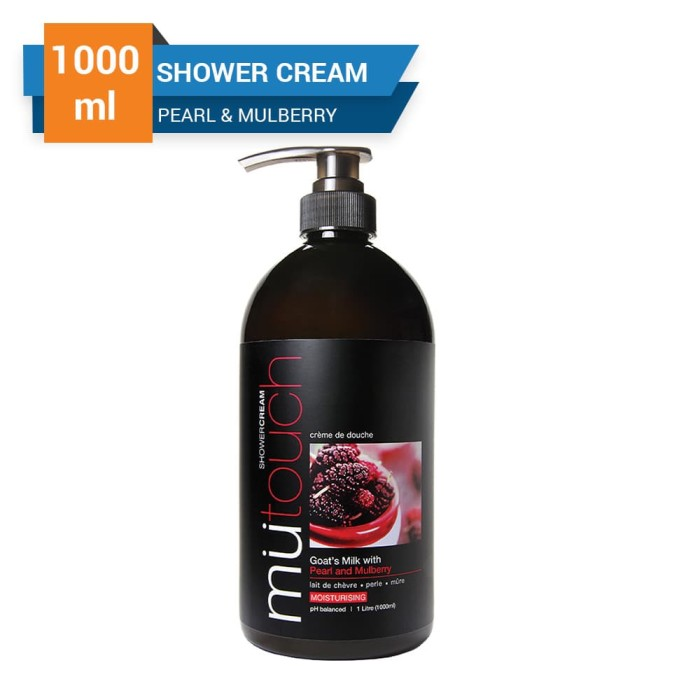 mutouch shower cream pearl & mulberry 1000 ml