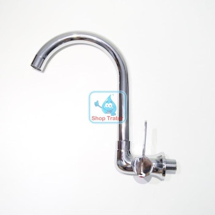 harga Kran angsa minimalis engkol murah - keran air cuci piring bahan tebal Tokopedia.com