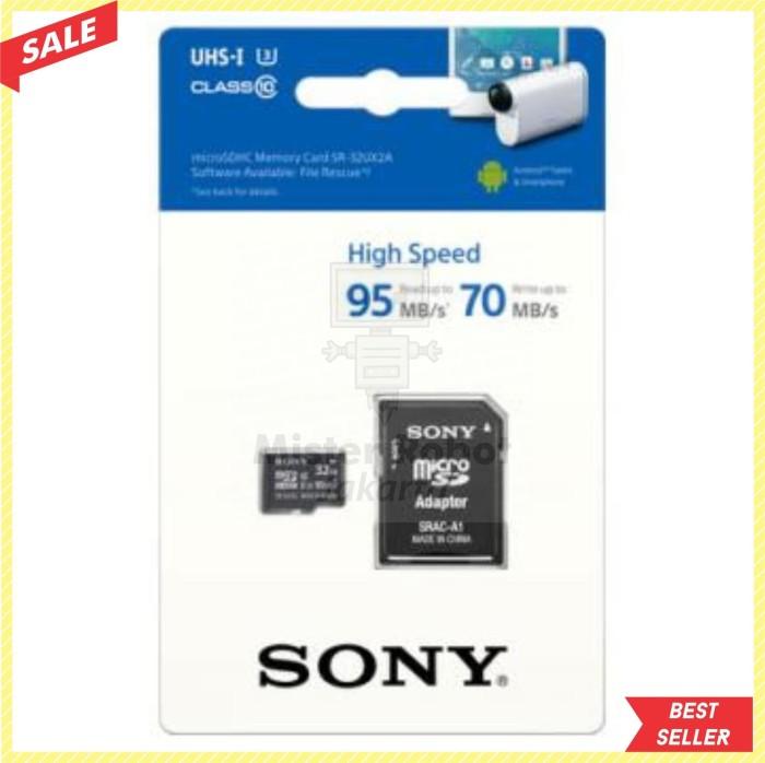 Jual Micro SD / MicroSDHC/XC - Merk Sony UHS-I U3 Class 10 (95MB/s) 32 GB -  DKI Jakarta - Mister Robot Jakarta   Tokopedia