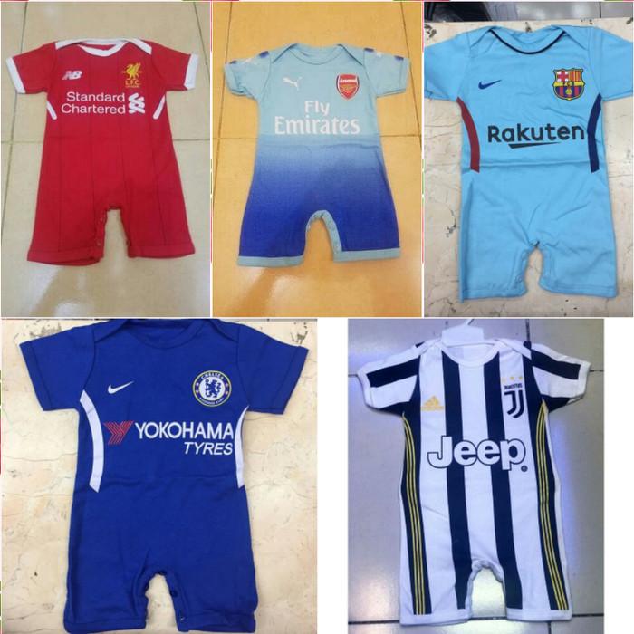 harga Baby jumper/ jumper bola bayi/ jersey kaos baju bola bayi cotton 100% Tokopedia.com