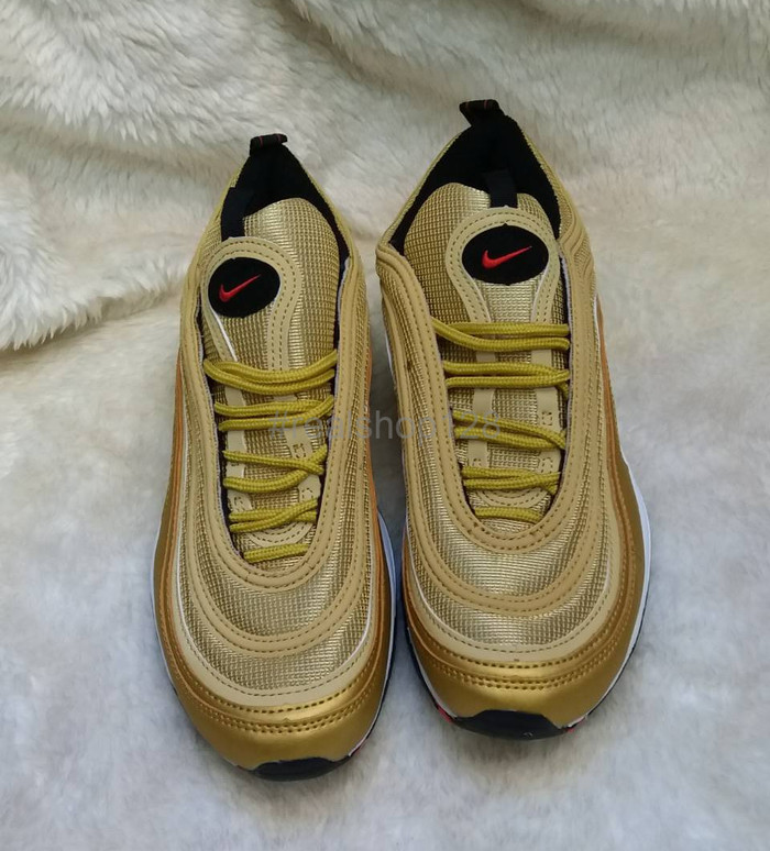 576ad3afe3a93 Jual TERBARU Sepatu Nike Air Max 97 OG QS Metallic Gold - Jakarta ...