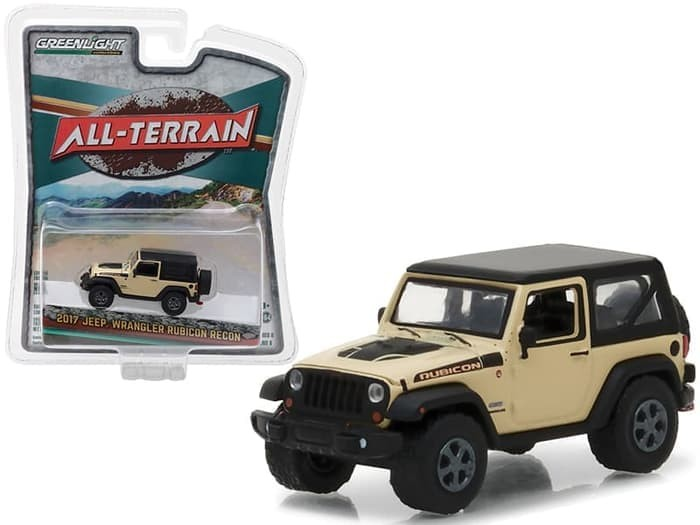Greenlight 1/64 2017 Jeep Wrangler Rubicon Recon All Terrain Series 6