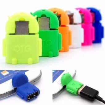 Otg Adapter Robot Produk Berkualitas Harga Diskon Maret 2019 Source · OTG ANDROID MICRO USB FOR SMARTPHONE SUPORT DATA ANDROID OTG Merah Muda