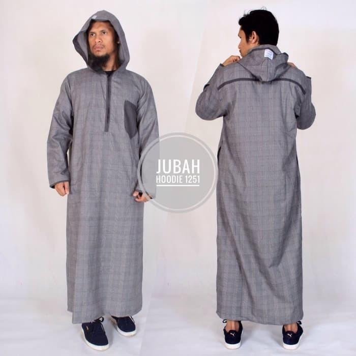 Jual Baju Muslim Pria Model Baju Jubah Hoodie Samase Warna Abu Kotak Dki Jakarta Alpukat4834 Tokopedia