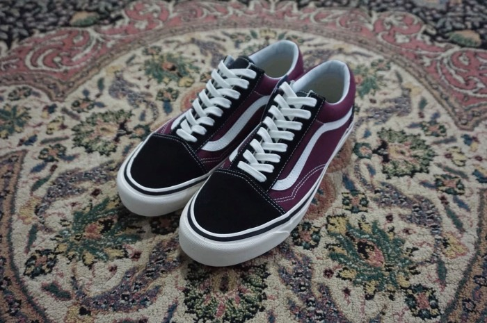 ddd0ea749d Vans Oldskool 36 DX Anaheim Factory Black Burgundy (Europe Exclusive)