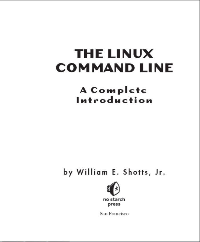 The Linux Command Line Ebook