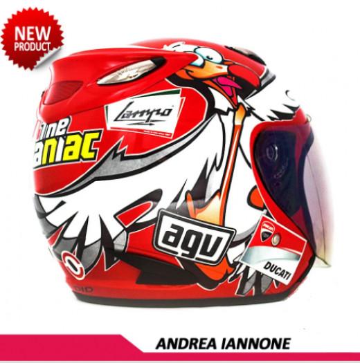 HELM REPLIKA MOTOGP AGV ANDREA IANNONE 1
