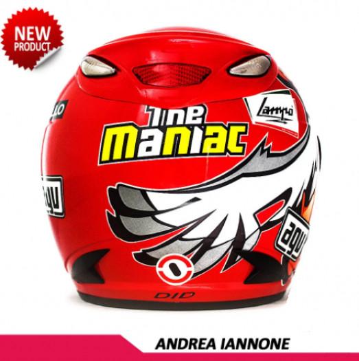 HELM REPLIKA MOTOGP AGV ANDREA IANNONE 2