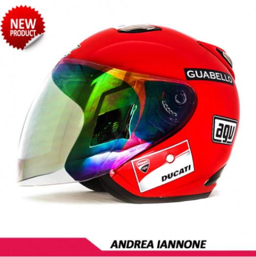 HELM REPLIKA MOTOGP AGV ANDREA IANNONE 4