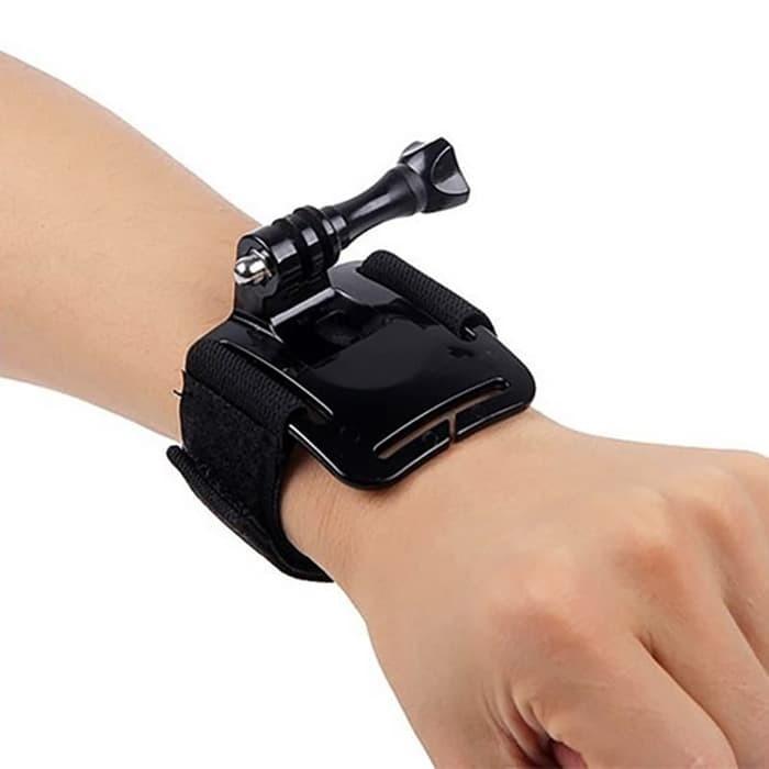 Action Cam 360 Degree Wrist Strap for Brica / SJCAM / GoPro / Xiaomi