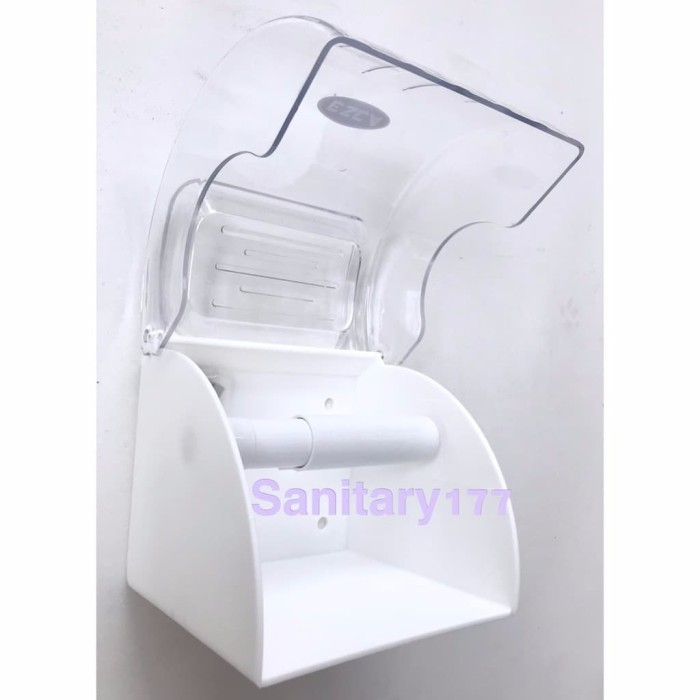 Tissue Roll Holder with Phone Tray Tempat Tissue Gulung Stainless Steel ... Source ·
