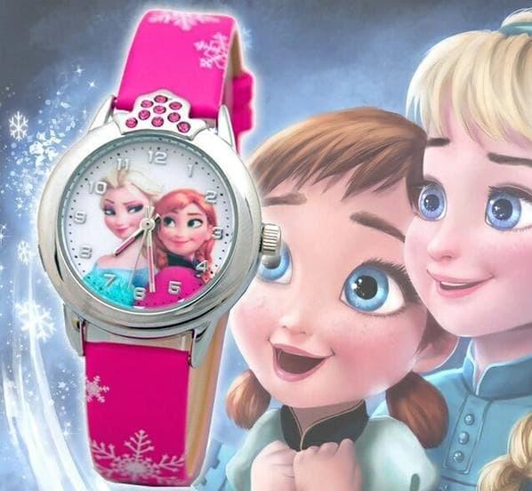 harga Jam tangan anak perempuan princess elsa anna frozen jam anak frozen Tokopedia.com