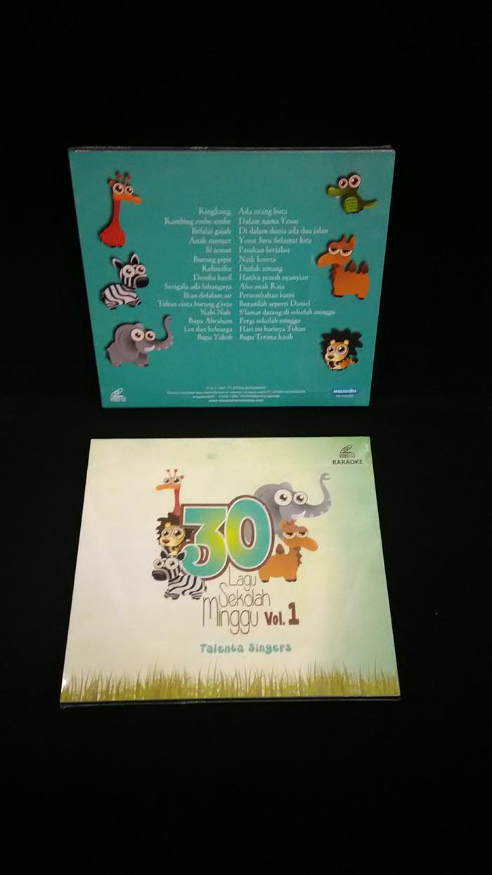 Jual 30 Lagu Sekolah Minggu Kota Surakarta Zion Production