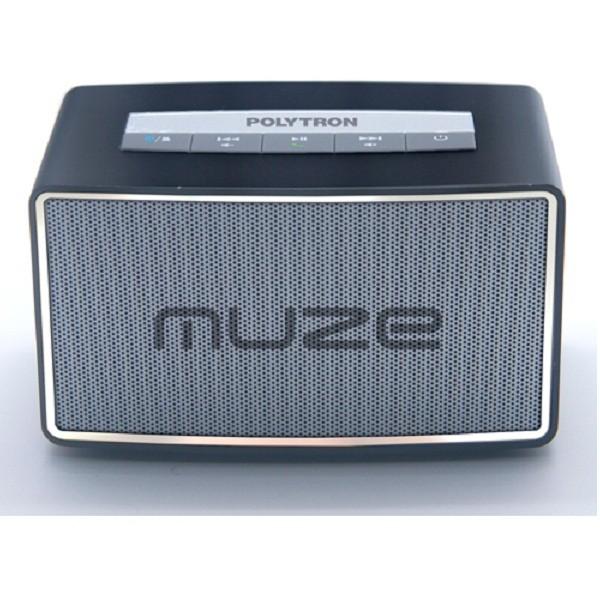 polytron psp-b1 muze mini bluetooth speaker - hitam