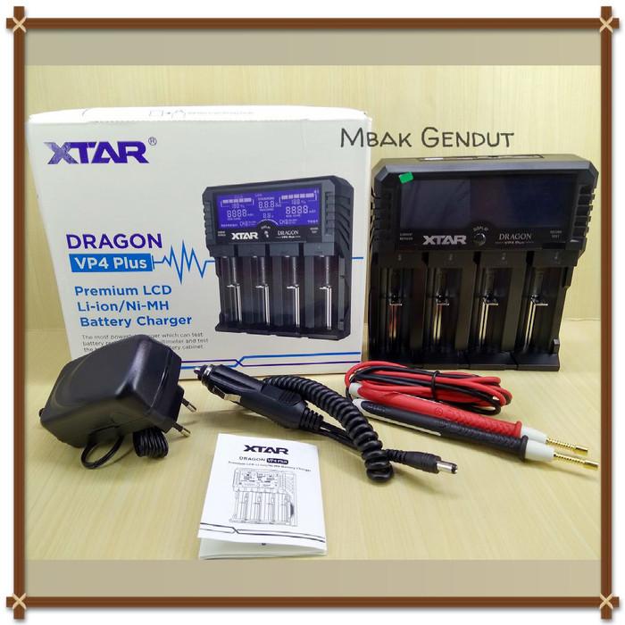 harga Xtar dragon vp4 plus charger baterai 18650 aa aaa li-po - not powerex Tokopedia.com