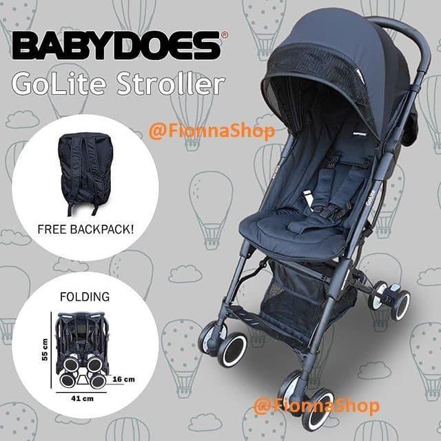 harga Stroller kereta bayi babydoes does golite ch488 recline bisa gojek Tokopedia.com